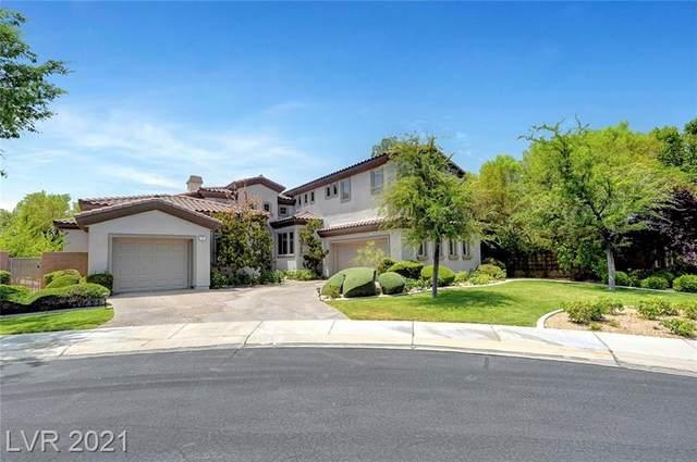 35 Desert Highlands Drive, Henderson, NV 89052 (MLS #2311946) :: Keller Williams Realty
