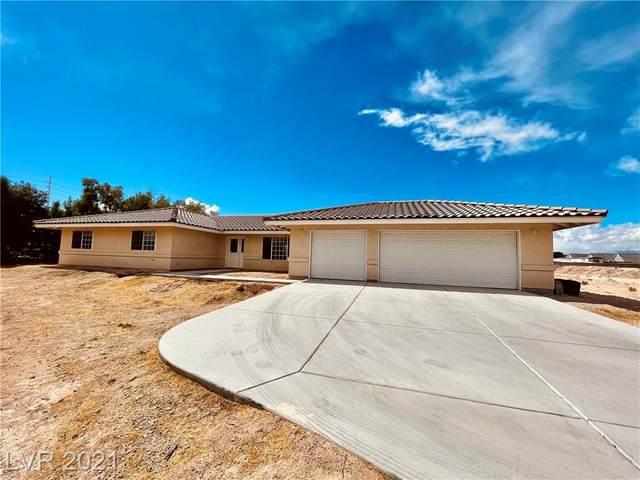 8835 S Rancho Destino Road, Las Vegas, NV 89123 (MLS #2319424) :: Kypreos Team