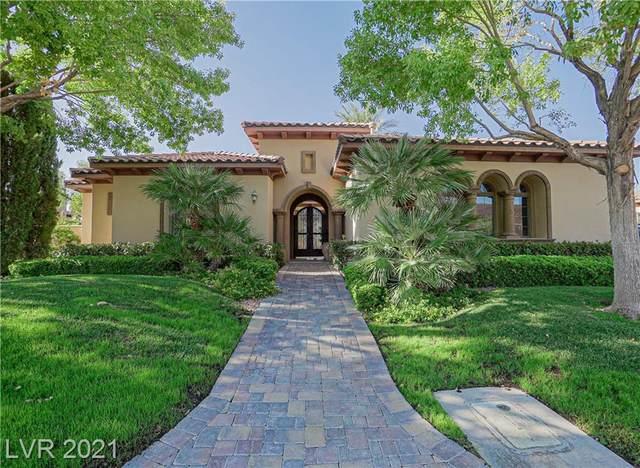 8 Mezza Luna Court, Henderson, NV 89011 (MLS #2323905) :: Signature Real Estate Group
