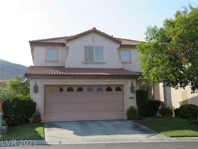 3421 Sun Rhythm Street, Las Vegas, NV 89129 (MLS #2323917) :: The Chris Binney Group | eXp Realty