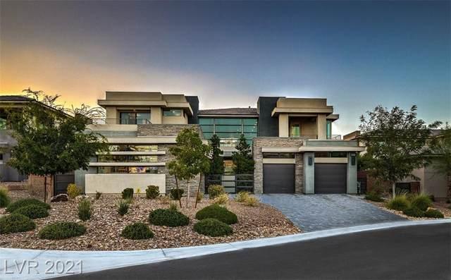4165 Bronze Ridge Street, Las Vegas, NV 89135 (MLS #2324971) :: Lindstrom Radcliffe Group