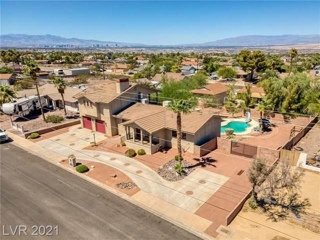 260 E Desert Rose Drive, Henderson, NV 89015 (MLS #2328028) :: Lindstrom Radcliffe Group