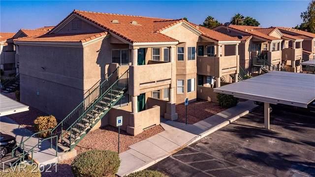 2232 Benmore Street #102, Las Vegas, NV 89108 (MLS #2331090) :: The Melvin Team