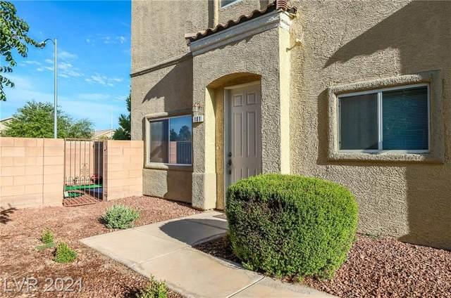 6313 Desert Leaf Street #101, North Las Vegas, NV 89081 (MLS #2331657) :: Signature Real Estate Group