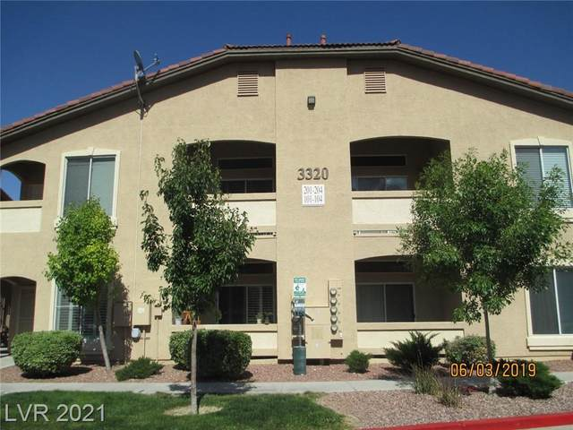 3320 Cactus Shadow Street #204, Las Vegas, NV 89129 (MLS #2333010) :: Galindo Group Real Estate