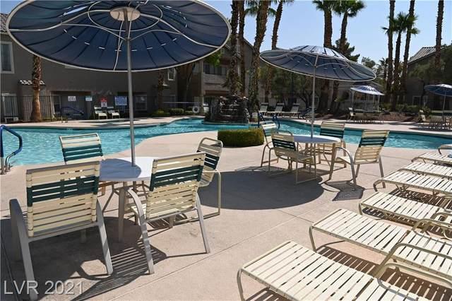 2153 Quartz Cliff Street #104, Las Vegas, NV 89117 (MLS #2335239) :: Lindstrom Radcliffe Group