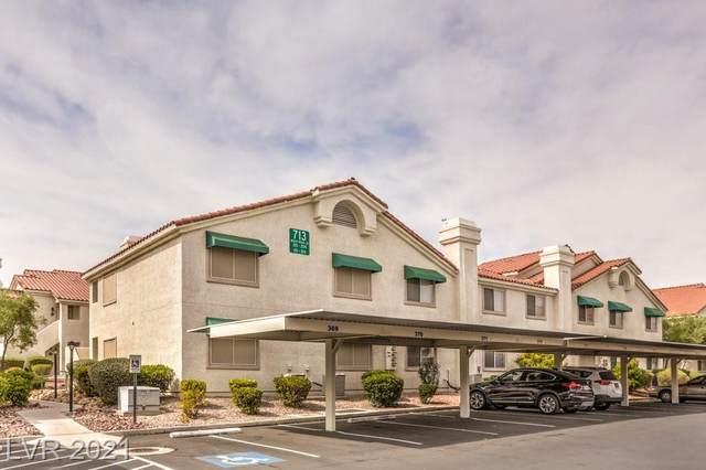 713 Wheat Ridge Lane #202, Las Vegas, NV 89145 (MLS #2335854) :: Jeffrey Sabel