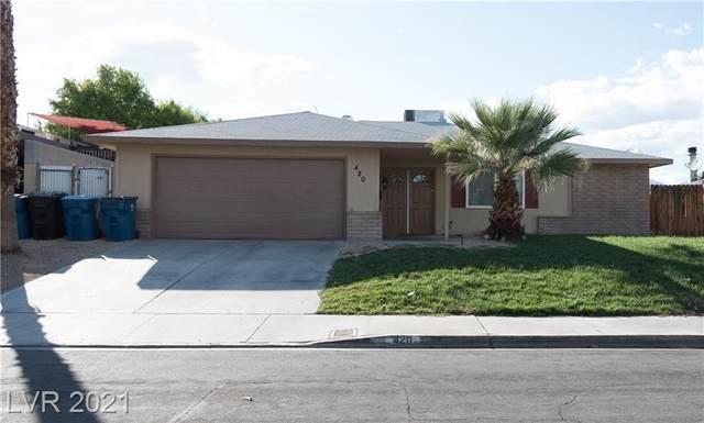 420 Pinecliff Drive, Las Vegas, NV 89145 (MLS #2337772) :: Jeffrey Sabel