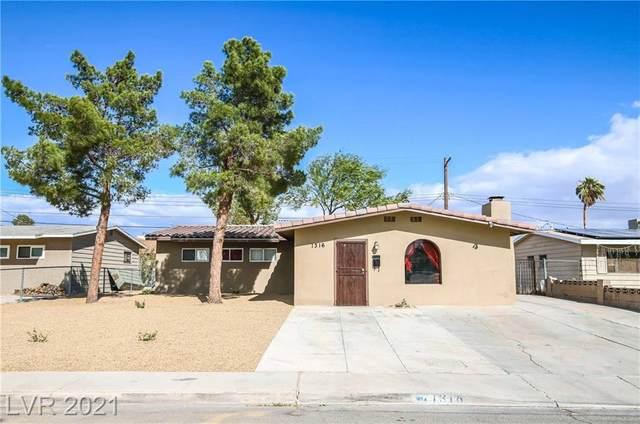 1316 E Webb Avenue, North Las Vegas, NV 89030 (MLS #2339920) :: Signature Real Estate Group