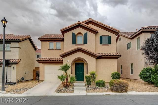 601 Stonehenge Walk Avenue, Las Vegas, NV 89178 (MLS #2341031) :: Jeffrey Sabel