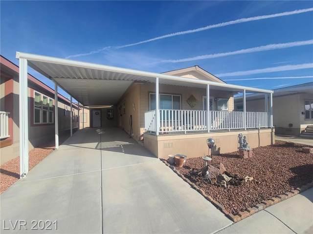 390 Bel Air Avenue, Pahrump, NV 89048 (MLS #2343474) :: Hebert Group | eXp Realty