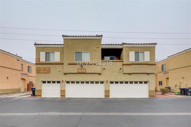 4024 Smokey Fog #102, North Las Vegas, NV 89081 (MLS #1963062) :: Signature Real Estate Group