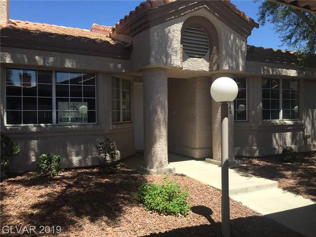 1380 Di Blasi Drive #105, Las Vegas, NV 89119 (MLS #1982069) :: Team Michele Dugan