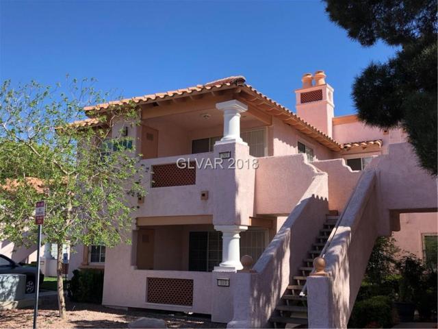 6844 Elm Creek #203, Las Vegas, NV 89108 (MLS #1983229) :: Sennes Squier Realty Group