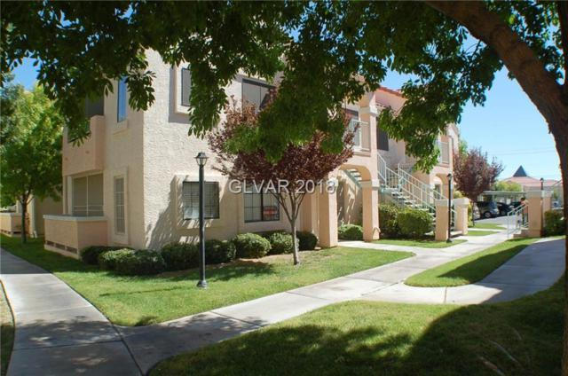 4885 Torrey Pines #104, Las Vegas, NV 89103 (MLS #2010875) :: The Snyder Group at Keller Williams Realty Las Vegas