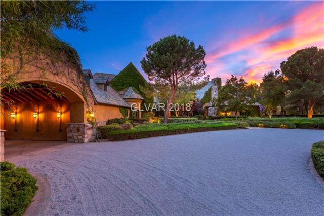 1641 Enclave, Las Vegas, NV 89134 (MLS #2023296) :: Vestuto Realty Group