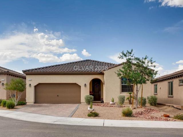 276 Via San Gabriella, Henderson, NV 89011 (MLS #2028325) :: The Snyder Group at Keller Williams Realty Las Vegas
