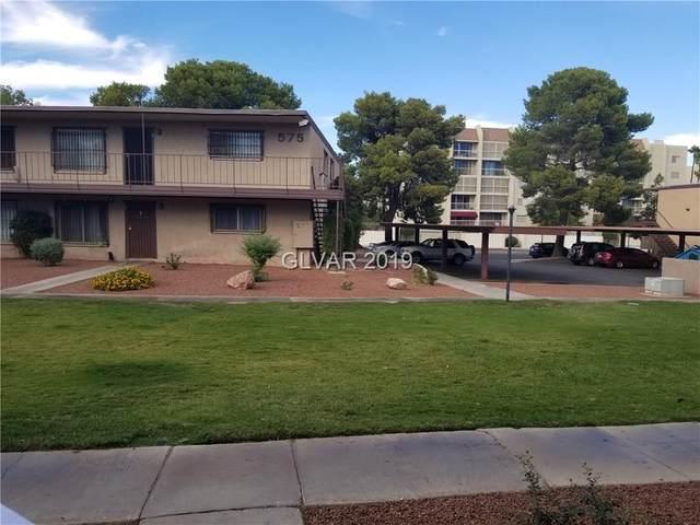 585 Royal Crest Circle #6, Las Vegas, NV 89169 (MLS #2038006) :: Billy OKeefe | Berkshire Hathaway HomeServices