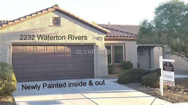 2232 Waterton Rivers, Henderson, NV 89044 (MLS #2040079) :: The Snyder Group at Keller Williams Realty Las Vegas