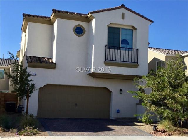 1153 Strada Cristallo, Henderson, NV 89011 (MLS #2041792) :: Vestuto Realty Group