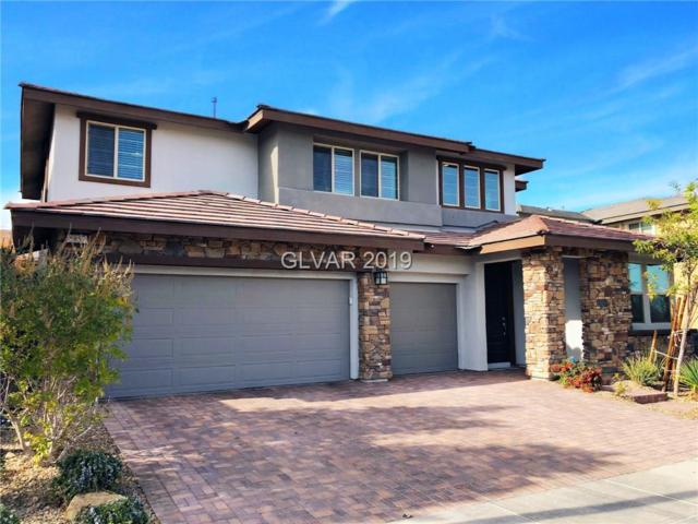 5857 Glory Heights, Las Vegas, NV 89135 (MLS #2049450) :: The Snyder Group at Keller Williams Marketplace One