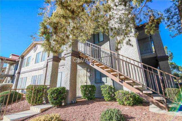1575 Warm Springs #713, Henderson, NV 89014 (MLS #2050095) :: The Snyder Group at Keller Williams Marketplace One