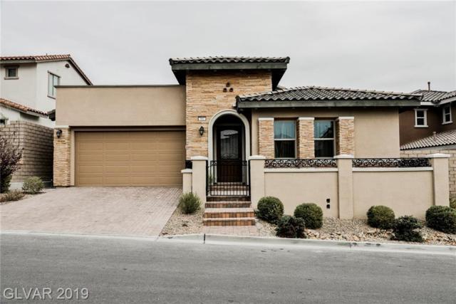 312 Castellari, Las Vegas, NV 89138 (MLS #2054106) :: Capstone Real Estate Network