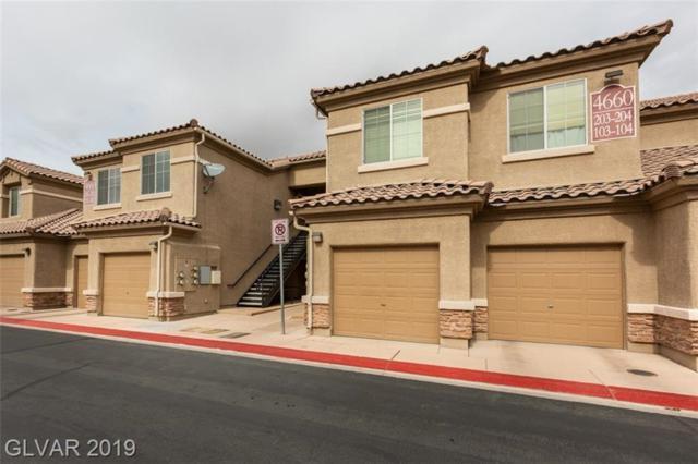 4660 Basilicata #103, North Las Vegas, NV 89084 (MLS #2069773) :: Vestuto Realty Group