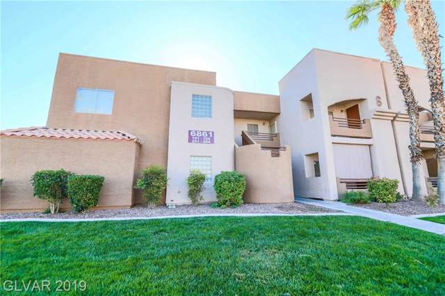6861 Tamarus #202, Las Vegas, NV 89119 (MLS #2116163) :: Trish Nash Team
