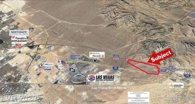 Us I-15 Hwy - Apex Industrial Park, North Las Vegas, NV 89124 (MLS #2136380) :: Vestuto Realty Group