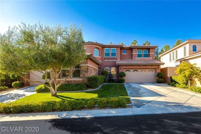 11389 Rancho Villa Verde Place, Las Vegas, NV 89138 (MLS #2148774) :: Jeffrey Sabel