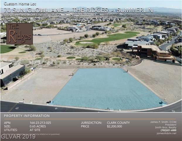 70 Sun Glow, Las Vegas, NV 89135 (MLS #2154825) :: Trish Nash Team