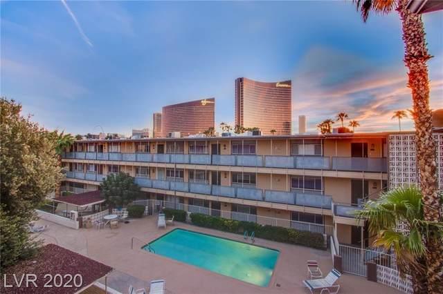 356 Desert Inn Road #315, Las Vegas, NV 89109 (MLS #2161130) :: The Perna Group