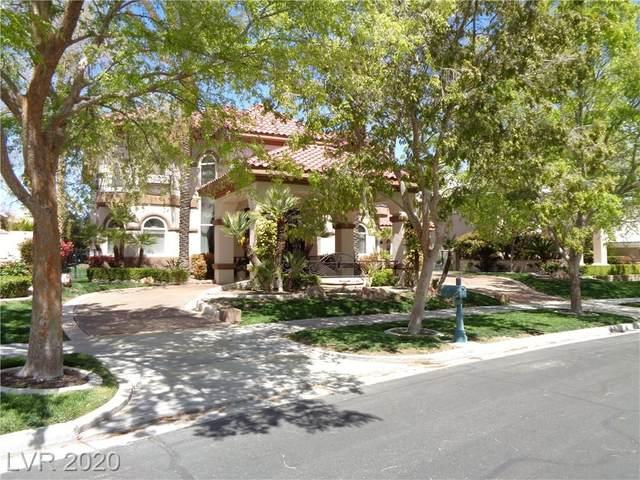 9220 Golden Eagle Drive, Las Vegas, NV 89134 (MLS #2167241) :: Signature Real Estate Group