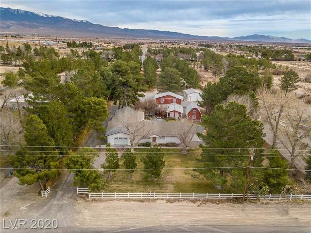 6161 S Homestead Road, Pahrump, NV 89048 (MLS #2168450) :: Signature Real Estate Group
