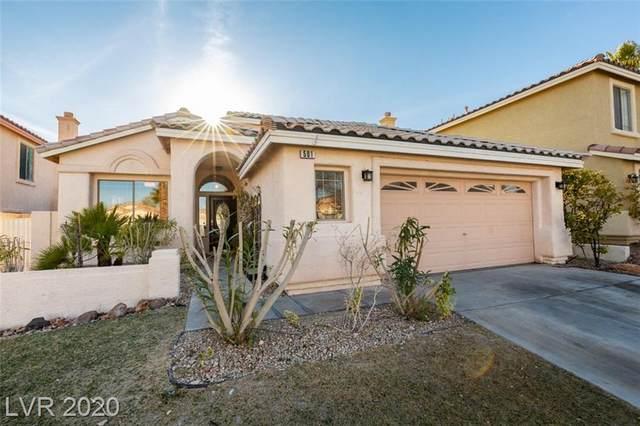501 Carlton Kay Place, Las Vegas, NV 89144 (MLS #2172335) :: Hebert Group | Realty One Group