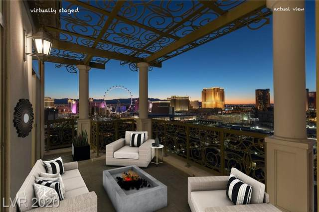 1 Hughes Center Drive #1901, Las Vegas, NV 89169 (MLS #2212792) :: The Lindstrom Group