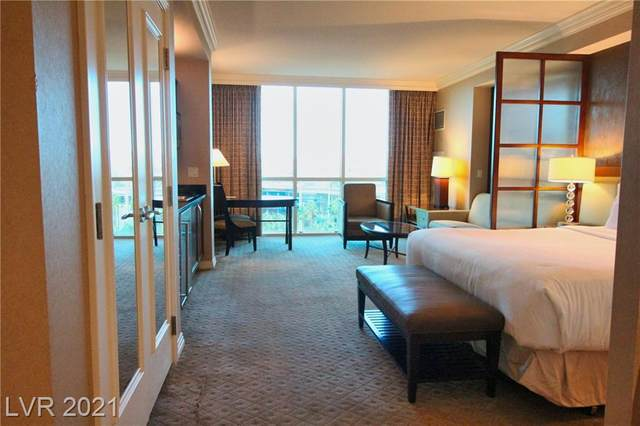 125 E Harmon Avenue #718, Las Vegas, NV 89109 (MLS #2231097) :: Team Michele Dugan