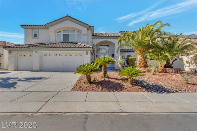 63 Cascade Lake Street, Las Vegas, NV 89148 (MLS #2231117) :: The Lindstrom Group