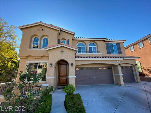 553 Los Dolces Street, Las Vegas, NV 89138 (MLS #2232893) :: Kypreos Team