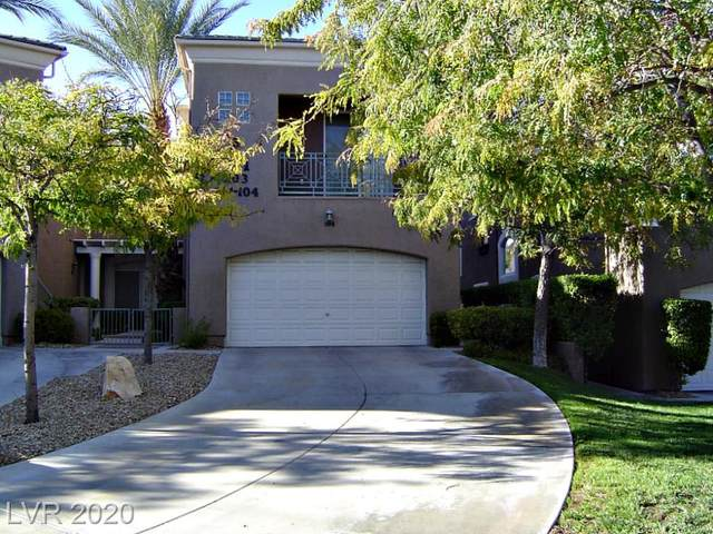 801 Dana Hills Court #104, Las Vegas, NV 89134 (MLS #2246047) :: Billy OKeefe | Berkshire Hathaway HomeServices