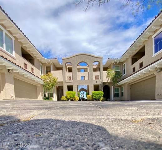 840 Canterra Street #1043, Las Vegas, NV 89138 (MLS #2276320) :: Signature Real Estate Group