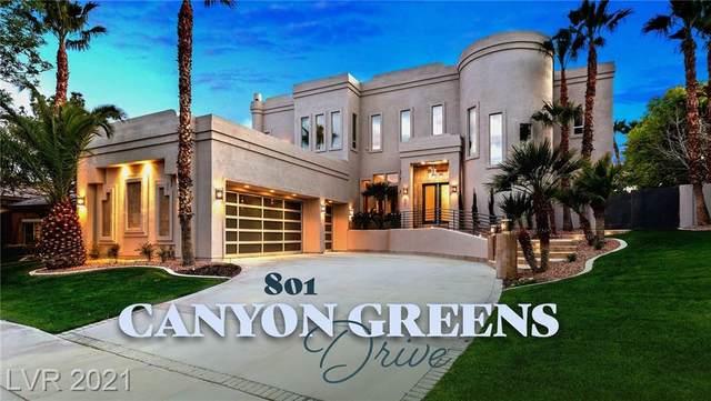 801 Canyon Greens Drive, Las Vegas, NV 89144 (MLS #2279184) :: Coldwell Banker Premier Realty
