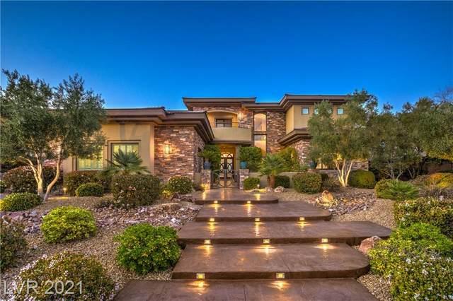 28 Soaring Bird Court, Las Vegas, NV 89135 (MLS #2285076) :: Galindo Group Real Estate