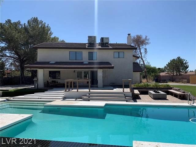 5575 Fire Island Drive, Las Vegas, NV 89120 (MLS #2297291) :: Jeffrey Sabel