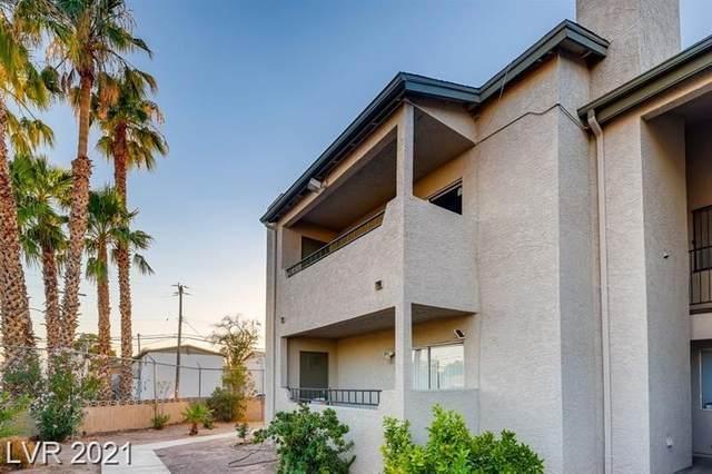 2941 Country Manor Lane #136, Las Vegas, NV 89115 (MLS #2305941) :: The Chris Binney Group | eXp Realty