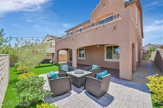 732 Catalina Aisle Street, Las Vegas, NV 89138 (MLS #2311833) :: Signature Real Estate Group