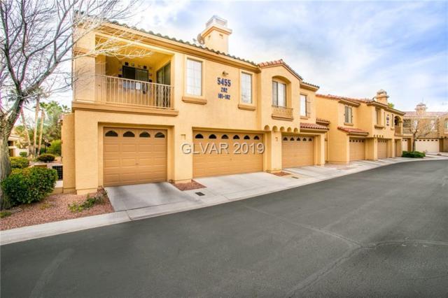 5455 Shay Mountain #202, Las Vegas, NV 89149 (MLS #2052133) :: Sennes Squier Realty Group