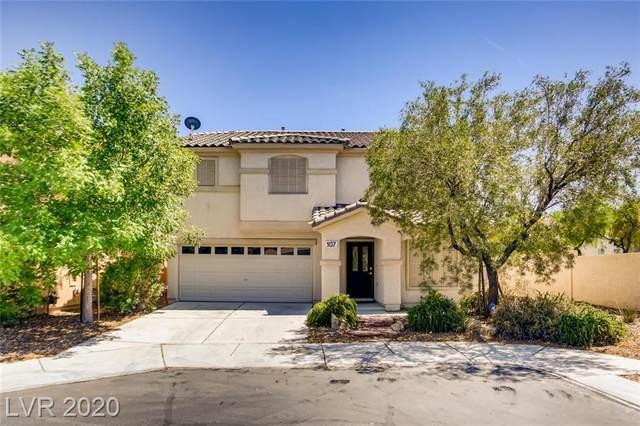 107 N Country Greens Avenue, Las Vegas, NV 89148 (MLS #2168186) :: Signature Real Estate Group
