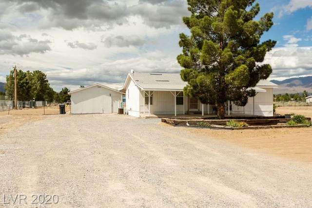 2700 W Hardy Lane, Pahrump, NV 89048 (MLS #2181355) :: Signature Real Estate Group